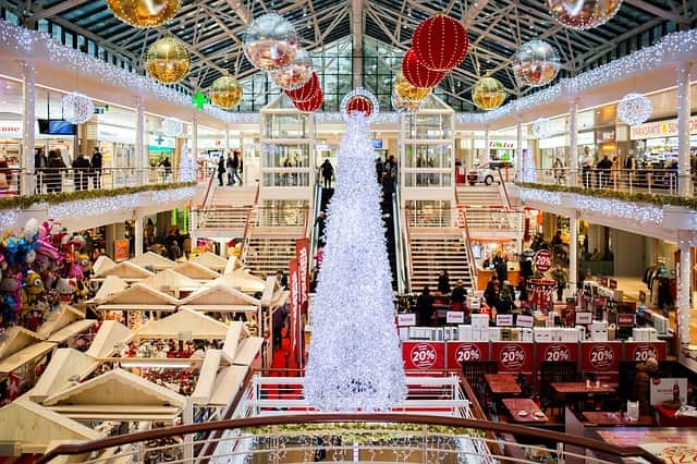 How to Get your Christmas Shopping Started and Finished Early-Christmas Shopping mall