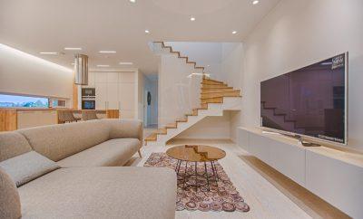 open living room plan
