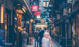 Melbourne's side street restaurants