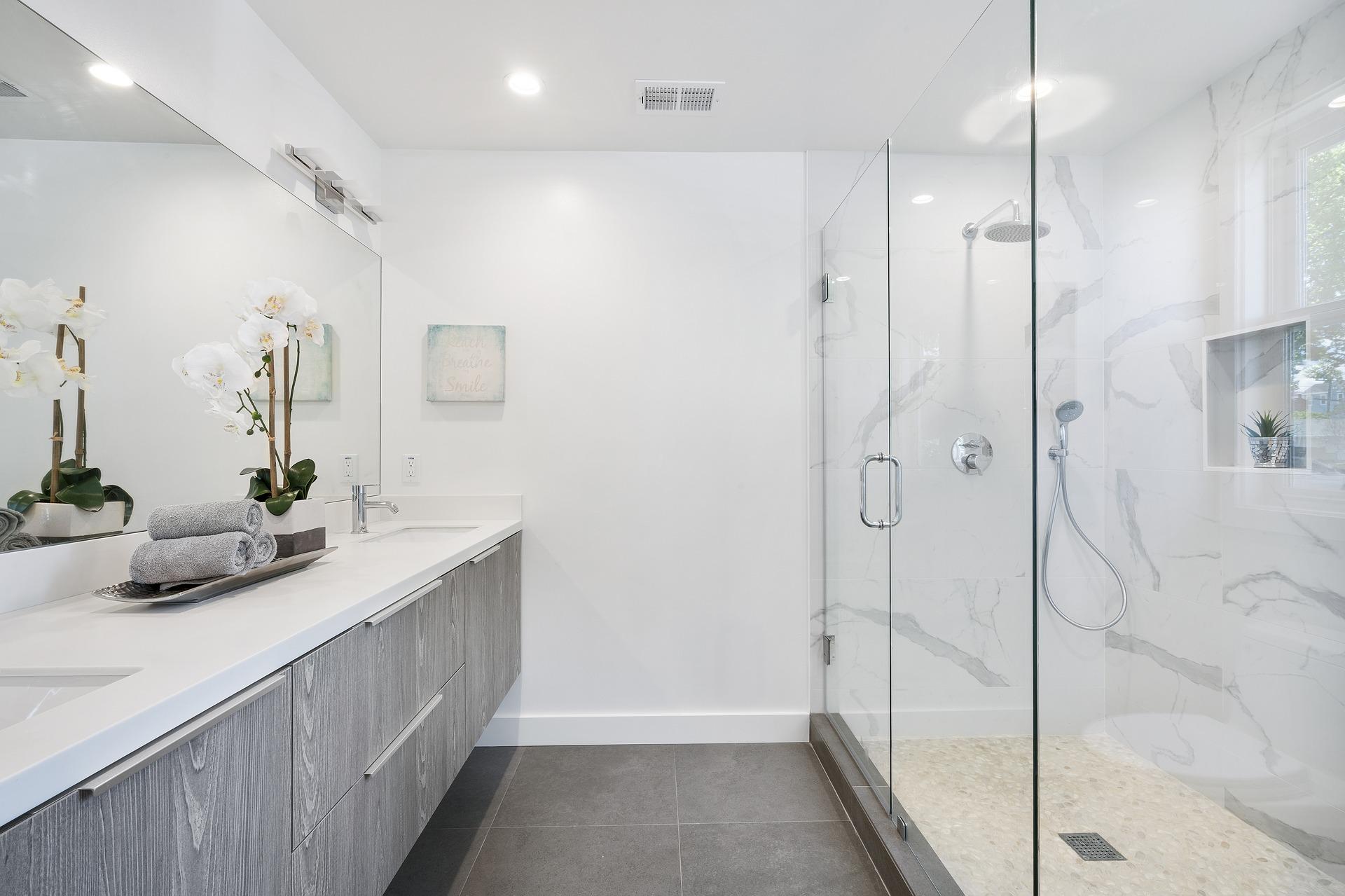 How to prevent bathroom humidity-modern bathroom