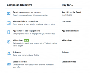 3 ways to maximise your social ad outcome.-twitter-objective