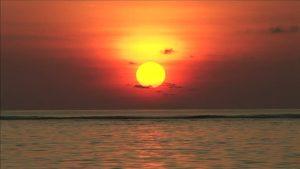Sunset, horizon