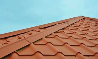 House tile roof