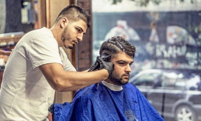 Men's hairdresser