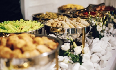 Buffet, food, catering