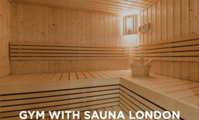 sauna, gym