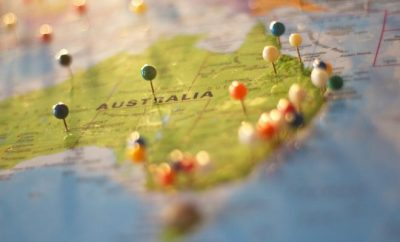 Map, Australia