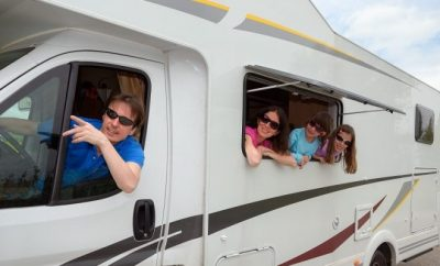caravan, trip, off-road