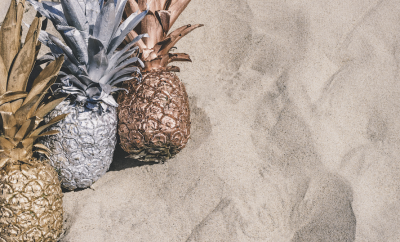 pineapple shaped precious metals