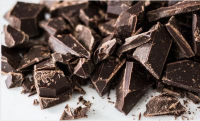 crushed chocolate