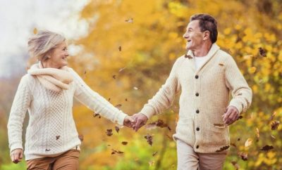 Ageing couple,