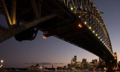 Sydney Harbour Bridge, Australia,