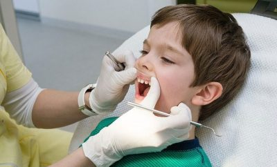 child, dentist, dental check up