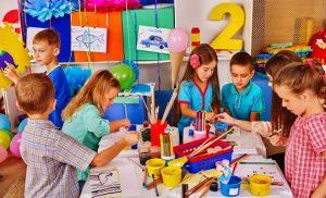 kindergartens working together