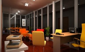 Office space, renovation