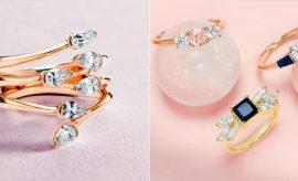 Jewellery, pearl rings