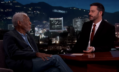 Morgan Freeman, Jimmy Kimmel Live