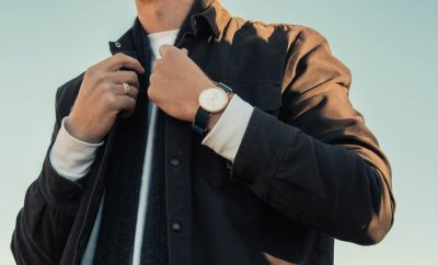 men with a wrist watch