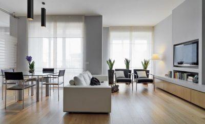 wooden floor in a modern home