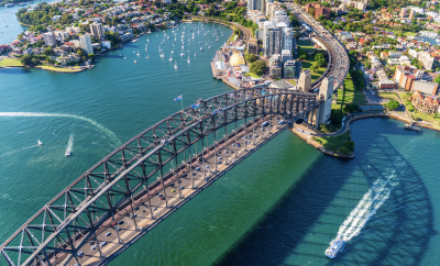 Sydney, Harbour bridge,