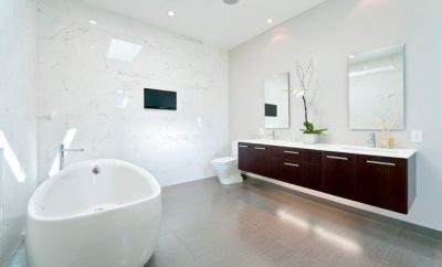 Modern bathroom, bathroom renovation