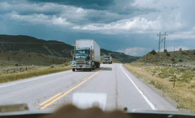 truck, driving a truck