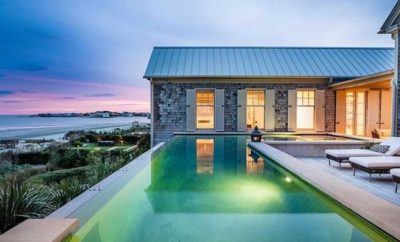 holiday home with a pool