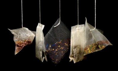 tea, tea bags