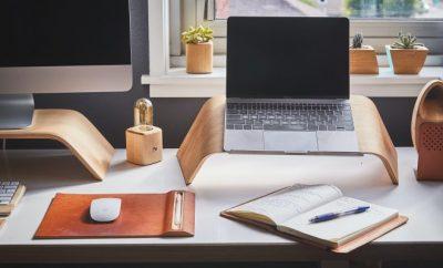 work desk, workspace
