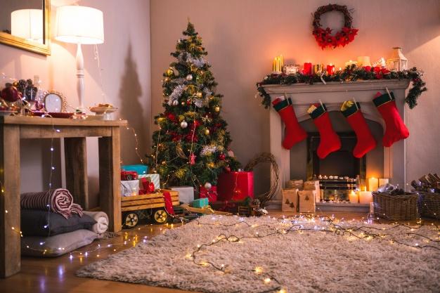 Pre Lighted Christmas Tree