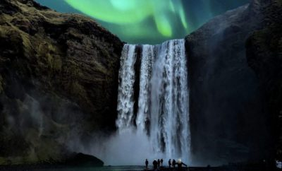 waterfall,Iceland, travel