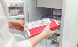 storing in fridge vaccines,