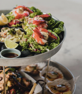 seafood, restaurant dish