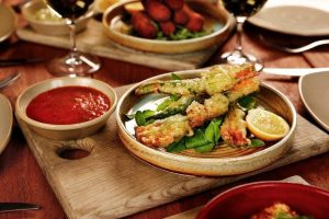 Asian food, Restaurant