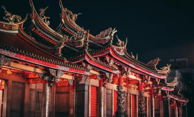 Asian buildings