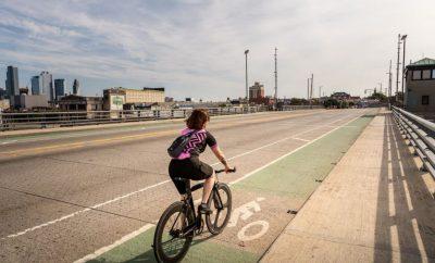 Woman cycling in the city, Bike, Bike-riding