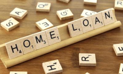 Letters spelling -Home Loan