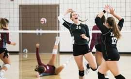 Sports uniform, Volleyball players